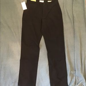 Goodfellow & Co Black Athletic Fit Pants 29x30 HENNEPIN CHINO  NWT